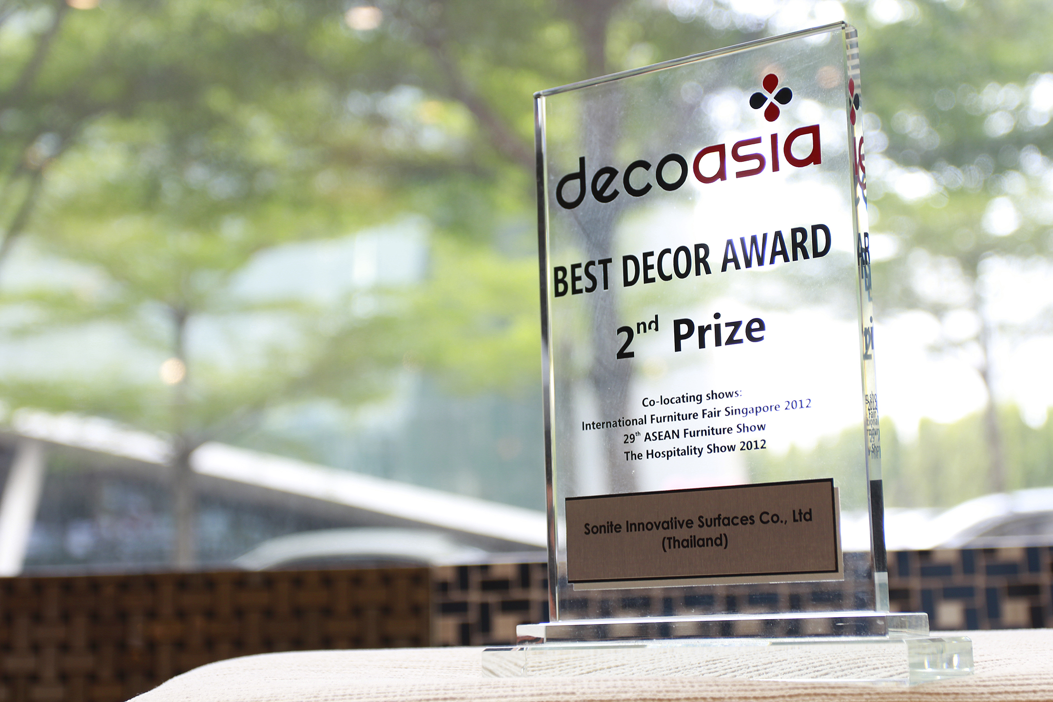 Decoasia Best Decor Award