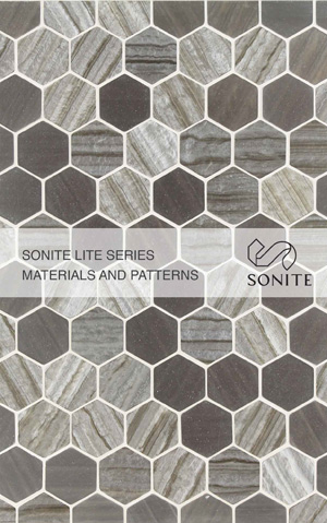Sonite Lite Series Materials and Patterns