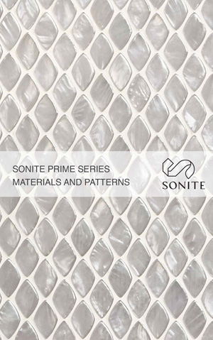 Sonite Prime Series Materials and Patterns